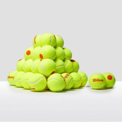 توپ تنیس ویلسون 48عددی مدل Starter Orange Ball -TENNIS BALL