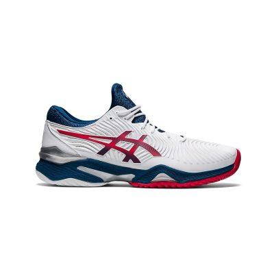 کفش تنیس مردانه اسیکس مدل Court FF 2 White/Blue