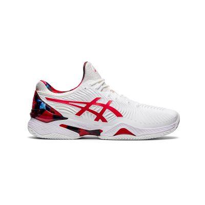 کفش تنیس مردانه اسیکس مدل Court FF Novak L.E White/Red